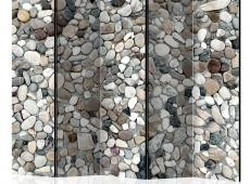 Paraván - Beach Pebbles II [Room Dividers]